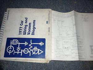 1977 ford granada mercury monarch oem wiring diagrams ebay rh ebay com ford granada v6 wiring diagram