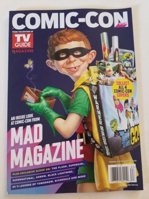 Sdcc 2018 Comic Con Tv Guide Magazine 4 Cover Set Special Edition Ebay