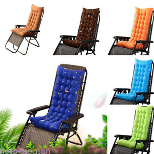 Miraculous Details About Deck Chair Cushion Thicken Outdoor Garden Recliner Lounge Soft Seat Mat Padded Creativecarmelina Interior Chair Design Creativecarmelinacom