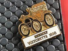 PINS PIN BADGE CAR RENAULT VOITURETTE 1898