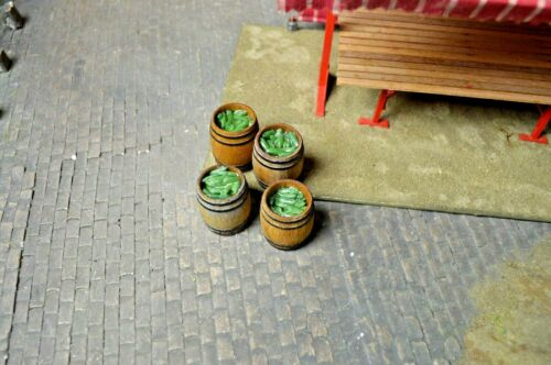 Ladegut Nr.140//63 Holzfässer mit Gurken Spur 1 Modellbauartikel