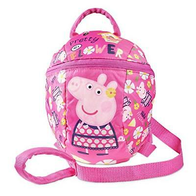 Peppa Pig Festival of Fun Fly a Kite Pink Mini Roxy Backpack with Pocket
