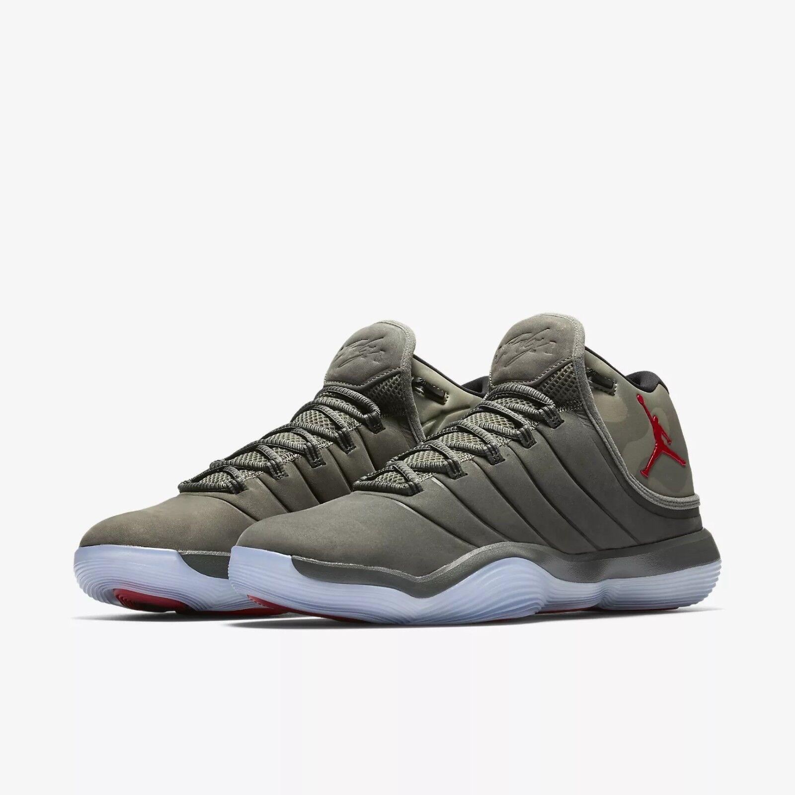 921203-051 Jordan Super.Fly 2017 Basketball Shoes River Rock/Blk Sizes 8-12 NIB
