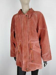 Dettagli su PLEASE CAPPOTTO DI PELLE MADE IN ITALY Giubbotto Jacket Giacca Tg 42 Donna