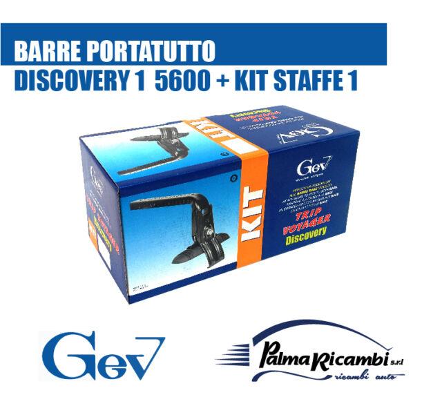 A5600+77 BARRE PORTATUTTO//PORTAPACCHI GEV ALLUMINIO CON SERRATURE ANTIFURTO