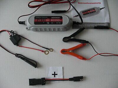 DUCATI Dino Ladegerät 6V 12V + Adapter DATA Stecker