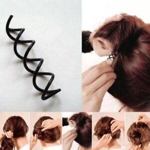 Frisurenhilfe-Magische-Haarklammer-Spirale-Spin-Pin-Spange-Haarclip-Haar