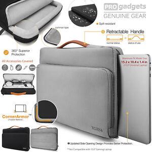 "TOMTOC 15-15.6"" Protective Laptop Briefcase Bag"