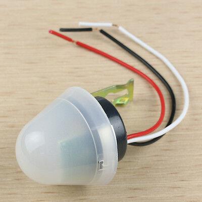 Adjustable Auto Photo Control Sensor Light Switch Rainproof DC 12V 10A