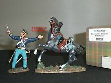 KING AND COUNTRY TRW10 REAL WEST DRAGOON DISMOUNTED WITH PISTOL TOY SOLDIER SET