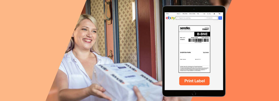 Try it now - New! Send your sold items with Sendle