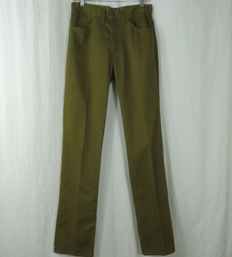 Vintage 60s Levi's BIG E Black Tag Slim Fit Jeans