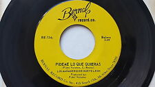 LOS MANANEROS de NUEVO LEON - Pideme Lo Que Quieras RARE 70's RANCHERA Tex-Mex