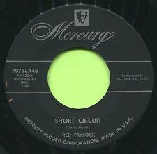 RED PRYSOCK (Finger Tips / Short Circuit)  R&B -SOUL  45 RPM  RECORD
