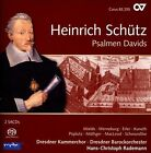 Heinrich Schtz: Psalmen Davids Super Audio Hybrid CD (CD, Oct-2013, 2 Discs, Carus)
