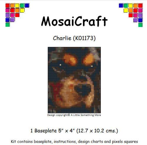 MosaiCraft Pixel Craft Mosaic Art Kit /'Charlie/' Cavalier King Charles Pixelhobby