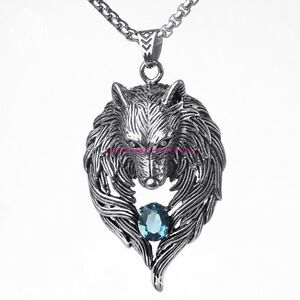 Wolf Necklace Men Reviews  aliexpresscom