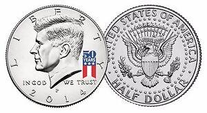 USA-2014-Kennedy-Half-Dollar-Coin-50th-ANNIV-Special-Release-Logo-UNC-amp-COA
