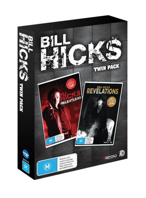 Bill Hicks: Twin Pack  (Relentless & Revelations) DVD $39.99
