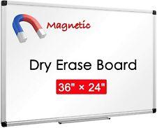 New Listingviz Pro Magnetic Dry Erase Board Whiteboard Home Office School Aluminium Frame