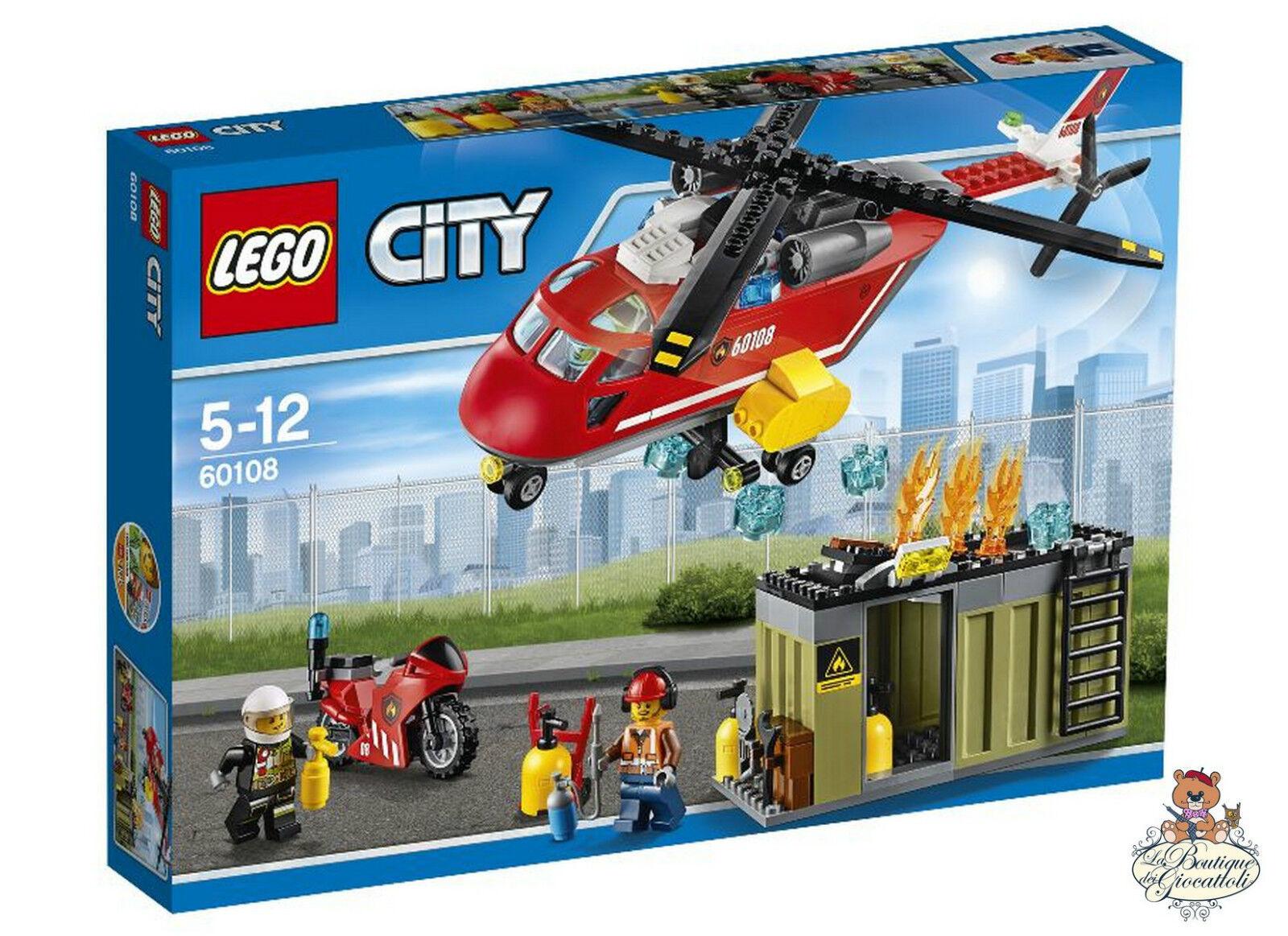 Lego City - Unità di risposta antincendio 60108