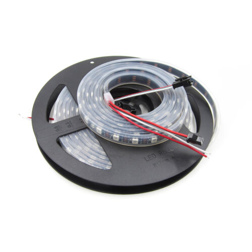 WS2812B  Addressable Digital Black  5M 5050 RGB 300 LED Strip Waterproof 5V