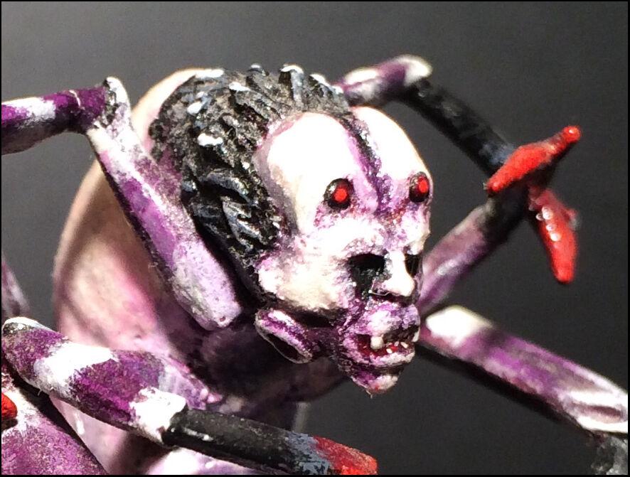 Araña de fase Pintado   RAL partha AD&D monstruos, fuera de imprenta en miniatura
