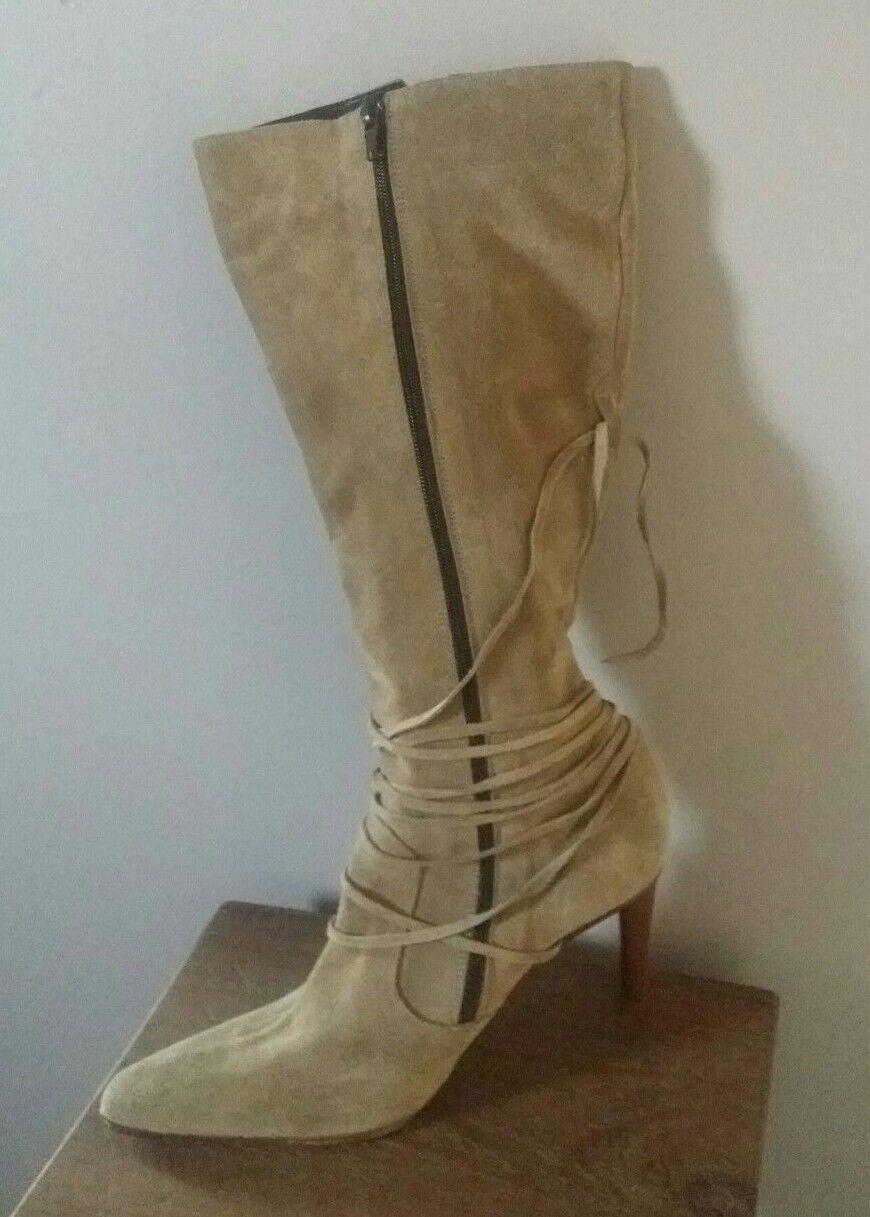 La rojooute Damas Damas Damas botas De Gamuza Talla 6  excelentes precios