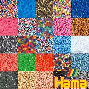 Hama-Beads-1000-PIECES-68-Colours-Childrens-Boys-amp-Girls-Kids-Craft-Supplies