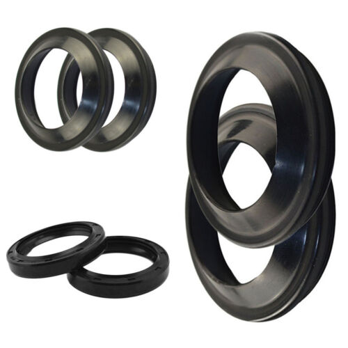 Motorcycle 47x58x11 Front Fork Damper Oil Seal&Dust Seals Rubber For HONDA CR250