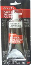 3M BONDO 901 PLASTIC METAL - Seals & Fills Almost Any Metal Surface 5 oz