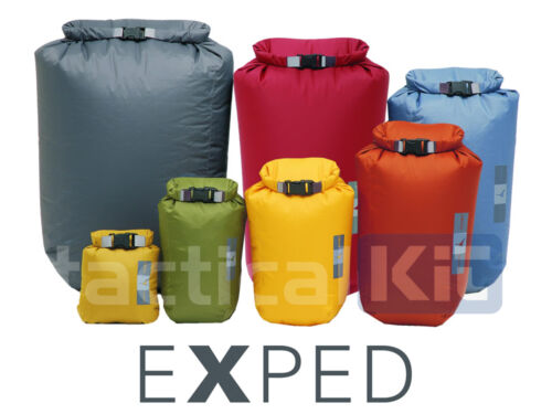 EXPED 100% Waterproof Fold Dry Bag Charcoal 40 Ltr XXL