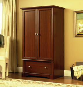 Beau Image Is Loading Cherry Finish Free Standing Armoire Wardrobe Closet  Dresser