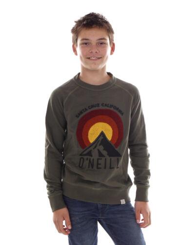 O`Neill Sweatpullover Sweater Pulli Jack/'s Peak grün Frottee Stickerei
