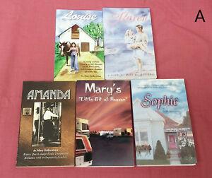 LOT-5-SIGNED-Mary-Kellerstrass-Novels-Louise-Karen-Sophie-Amanda-Heaven-Romance