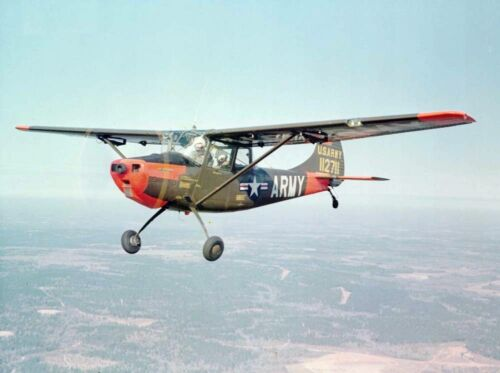 CESSNA L19 BIRD DOG 1//4 SCALE PLAN AND PARTS PATTERNS