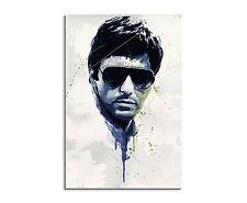 90x60cm PAUL SINUS Splash Art Kunstbild Al Pacino Scarface Geschenkidee_