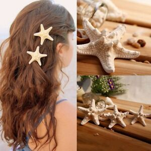 Schick-Seestern-Elastisch-Haarschmuck-Haarclip-Haarspange-Hairpin-Haarnadel-L1I2