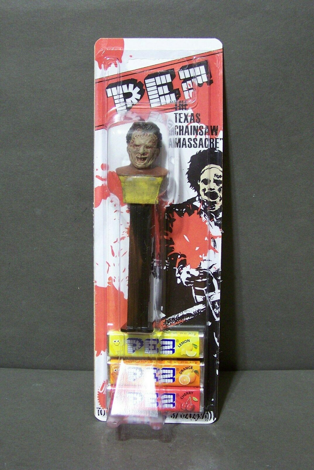 Dispensadores De Dulces Personalizada Texas Chainsaw Massacre Leatherface prossootipo de prueba
