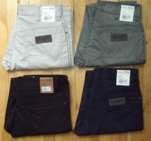 Wrangler Texas Original Recto Estandar Pantalones Chinos Vaqueros Ligeros Nuevo Ebay