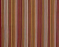 Pottery Barn Keller Stripe Rug Rust 5x8 Indoor Outdoor Authentic Wrapping