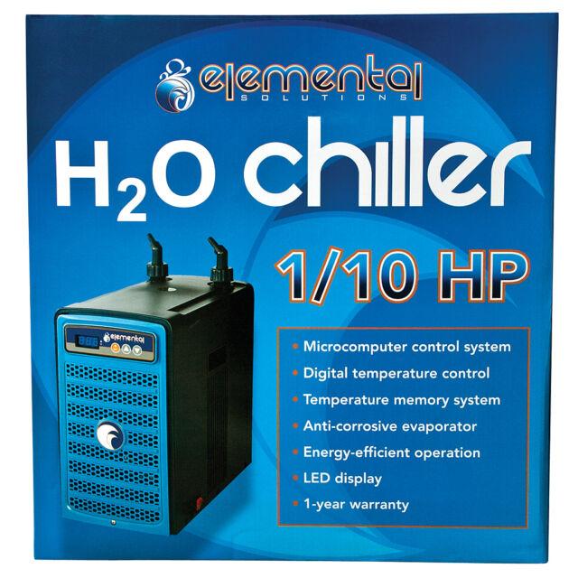 Elemental Water Chiller, 1/10 HP - Aquarium Chiller
