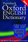 The Paperback Oxford English Dictionary by Oxford University Press (Paperback, 2002)