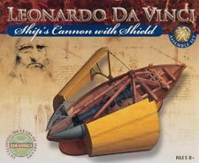 ELENCO EDU-61023 Da Vinci Ship Cannon with Shield DIY Kit Ages 8+