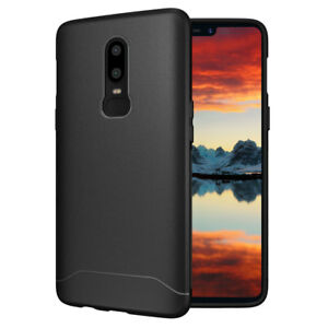the best attitude d08d7 3c3cd Details about for OnePlus 6, TUDIA Full Matte ARCH S TPU Case Cover