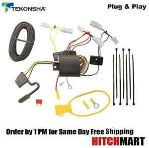 fits 2014 2017 toyota corolla trailer hitch wiring t connector rh ebay com