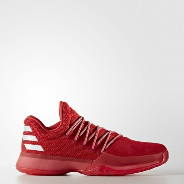30faf823 Adidas Basketball James Harden Vol.1 Red White Shoes Boost New Men NBA  CQ1404