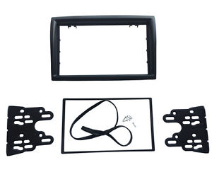 Peugeot Boxer 1 Din Single DIN Fascia Radio Stereo Replacement Kit Installation