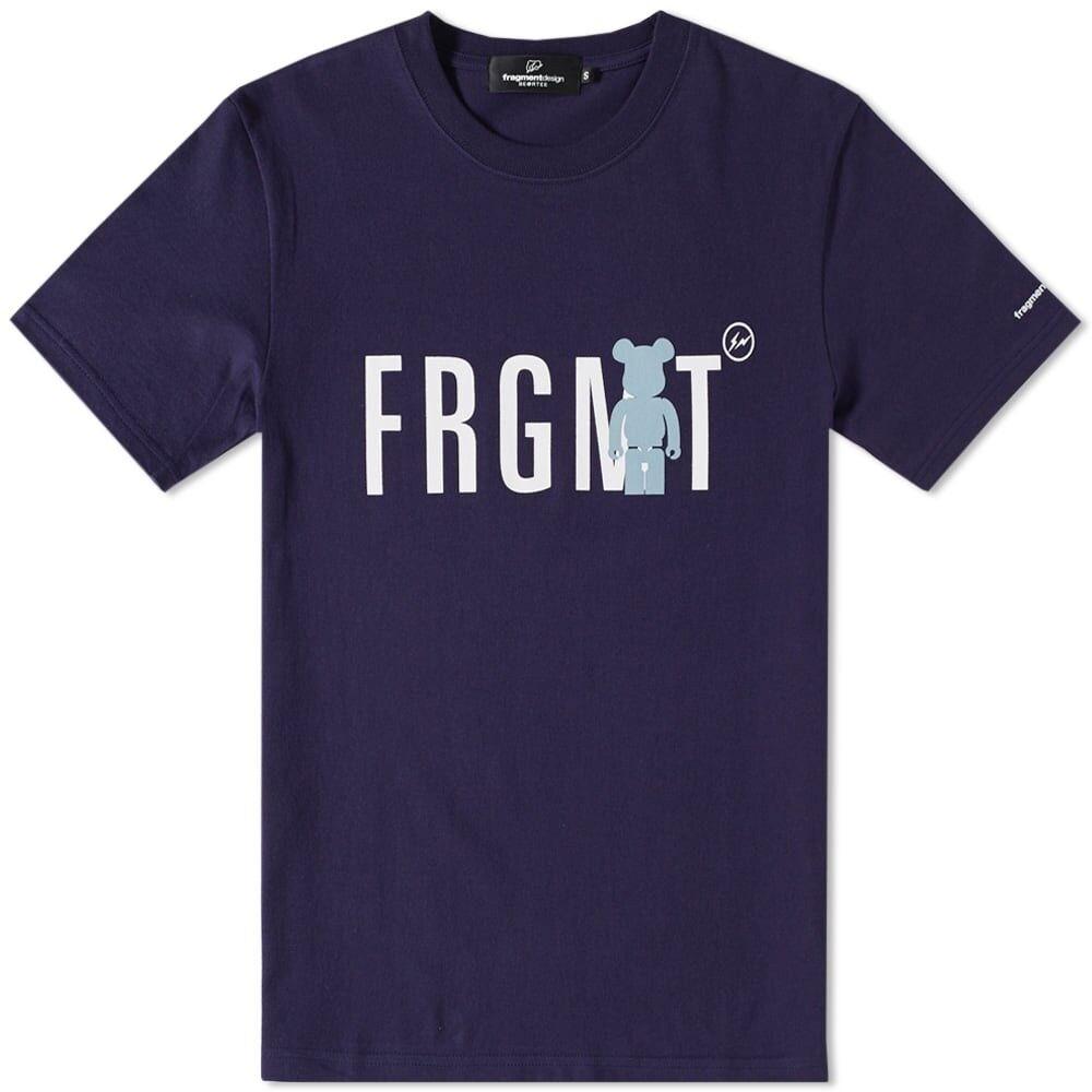 Medicom x Fragment Design Men FRGMT BE@RTEE navy