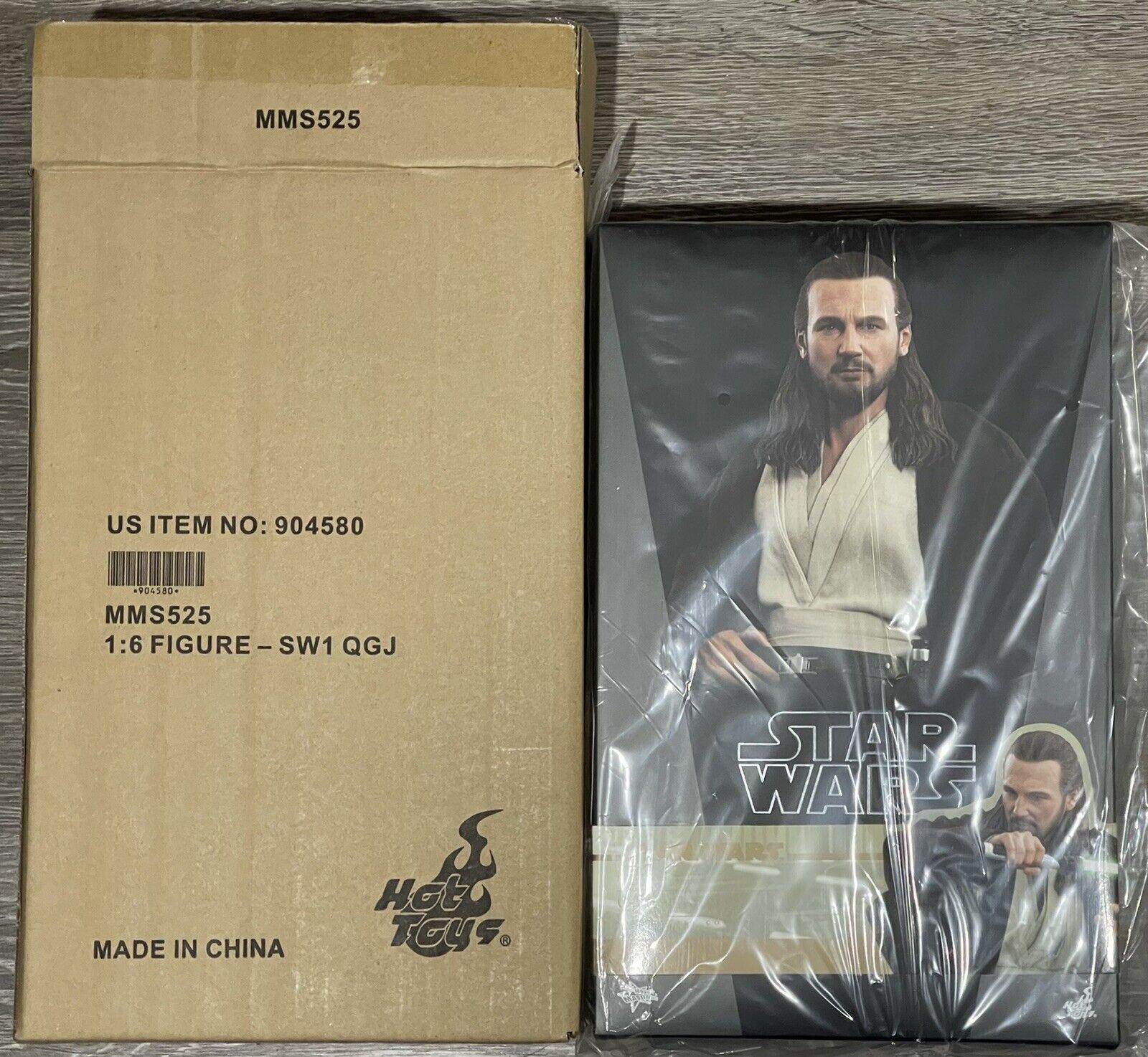 Hot Toys Star Wars QUI-GON JINN The Phantom Menace Figure 1/6 Scale MMS525 on eBay thumbnail